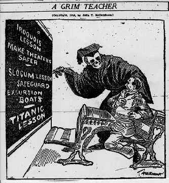 A grim teacher Richmond Times Dispatch April 23, 1912
