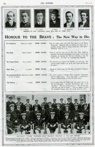 Honour to the Brave The Sphere May 4 1912