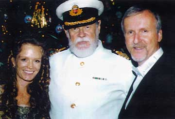 Lowell Lytle with Titanic movie producer James Cameron