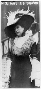 Mrs. J.J. Brown survivor of Titanic in 1915