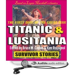 Titanic & Lusitania Survivor Stories aud cov