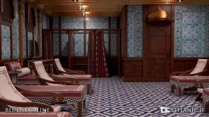A Turkish bath