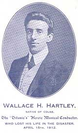 Wallace Hartley, bandleader of the Titanic