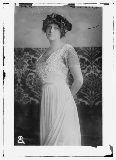 Mrs. John Jacob Astor in 1914.