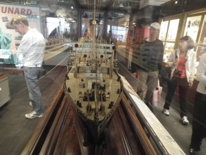 So, exactly how did they get that ship in the bottle?  Models of ships and nautical gear telling the story of not only Titanic but of the evolution of sailing the seas fills the Maritime Museum of the Atlantic.