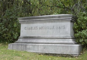 Charles Melville Hays tombstone
